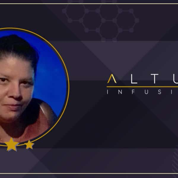 Altus Infusion employee Jennifer Terral - October Employee of the Month